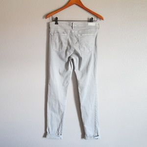 Ag Adriano Goldschmied Jeans - AG The Prima Mid Rise Cigarette Skinny Jeans 29R